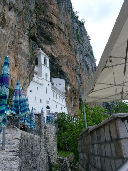 Верхний монастырь, встроенный в стену