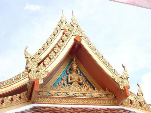 Храм Будды, крыша