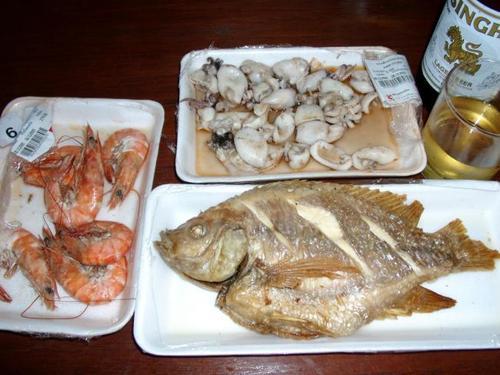 Ужин в Тайланде